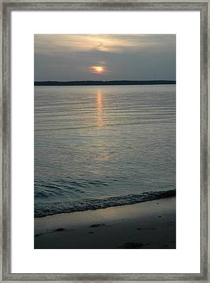 Day Done Framed Print