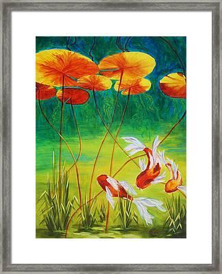Day Dreamin Framed Print by Karen Dukes