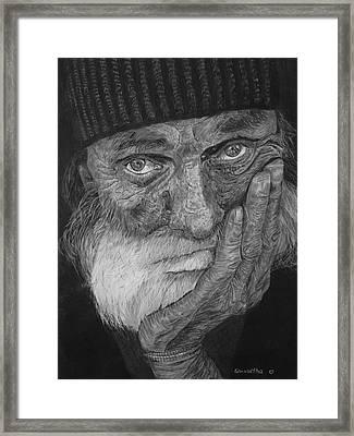Mr. Mike Framed Print