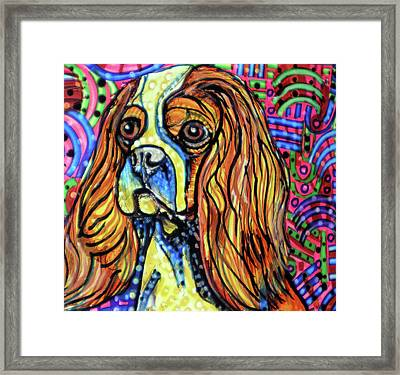 Day Dreaming Framed Print by Robert Wolverton Jr
