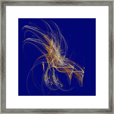 Day Fireworks Framed Print by Thomas Smith