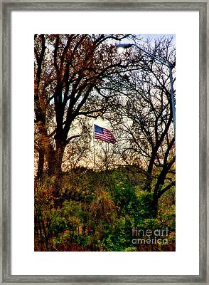 Day Is Done Framed Print by Joan Bertucci