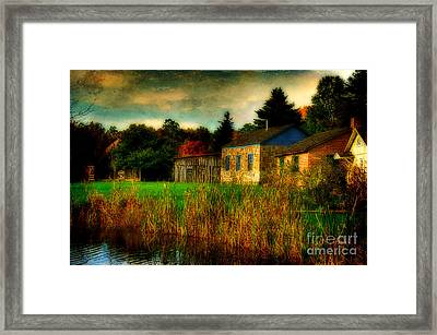 Day Is Done Framed Print by Lois Bryan