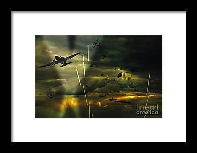 Dday Framed Prints