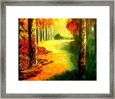 Day Of Rest Framed Print