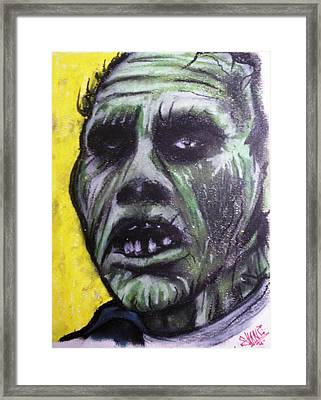 Day Of The Dead - Bub Framed Print by Sam Hane