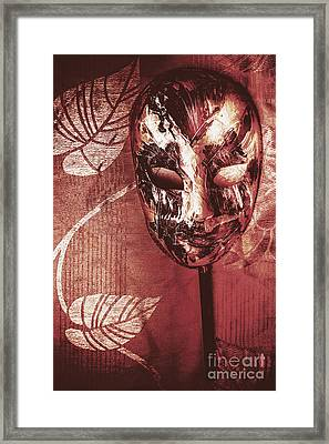 Day Of The Dead Carnival Mask Framed Print by Jorgo Photography - Wall Art Gallery