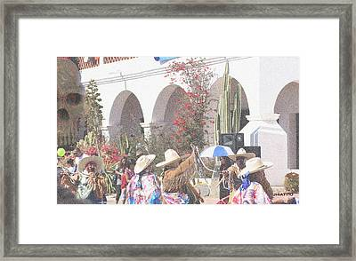 Day Of The Dead Framed Print by Jhiatt