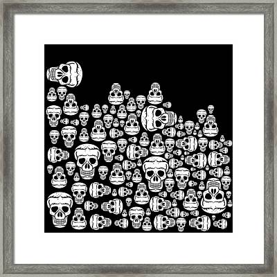 Day Of The Dead Framed Print by Mark Ashkenazi