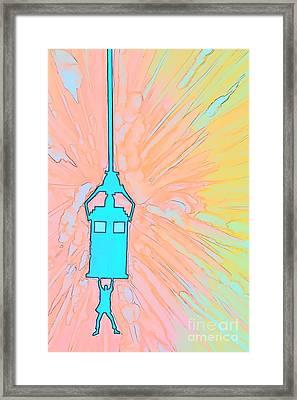 Day Of The Doctor Color Sketch Framed Print