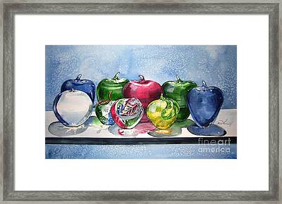 Day Of The Teacher No 1 Framed Print