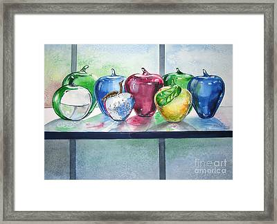 Day Of The Teacher No. 2 Framed Print