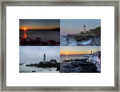 Day Or Night In Any Season Framed Print