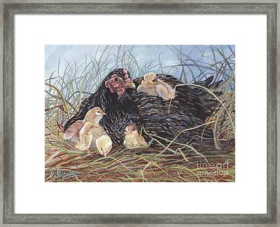Day Two Framed Print by Callie Smith