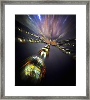 Daya Bay Neutrino Experiment Framed Print