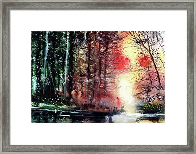 Daybreak 2 Framed Print by Anil Nene