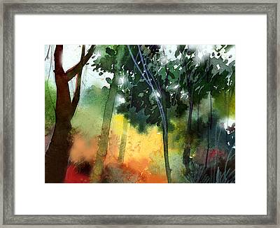 Daybreak Framed Print by Anil Nene