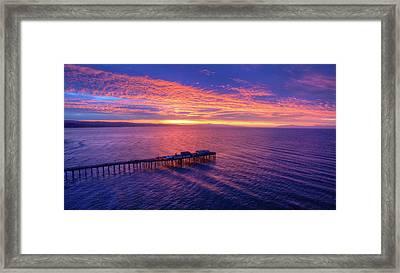 Daybreak Framed Print by David Levy
