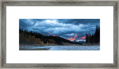 Framed Print featuring the photograph Daybreak by Fran Riley