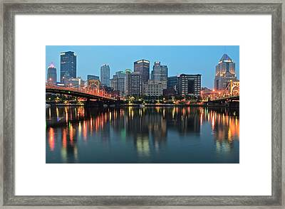 Daybreak Framed Print by Frozen in Time Fine Art Photography