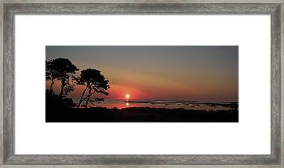Daybreak In Edgartown Framed Print