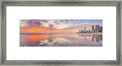 Daybreak In Paradise Framed Print by Az Jackson