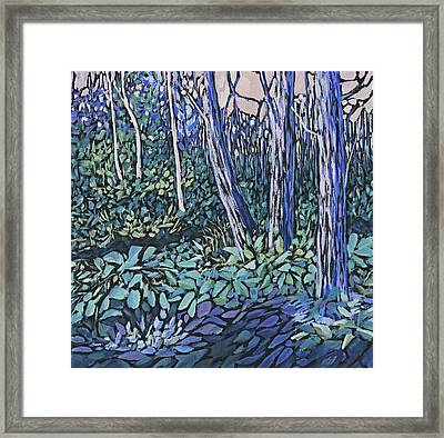 Framed Print featuring the painting Daybreak by Joanne Smoley