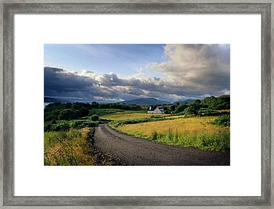 Daybreak Framed Print by Warren Home Decor