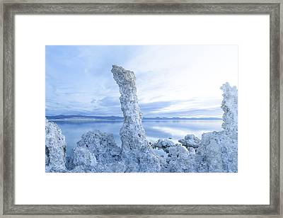 Daybreak Mono Lake Framed Print