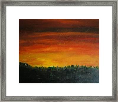 Daybreak Number Three Framed Print by Scott Haley