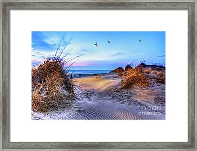 Daybreak On The Outer Banks 1 Framed Print