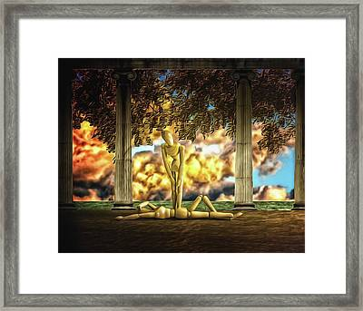 Framed Print featuring the photograph Daybreak Redux by Mark Fuller