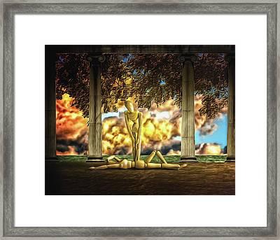 Daybreak Redux Framed Print by Mark Fuller