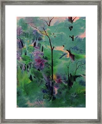 Daybreak Framed Print by Sharon K Wilson