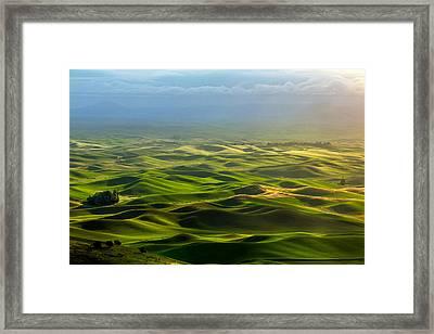 Daybreak Framed Print by Todd Klassy