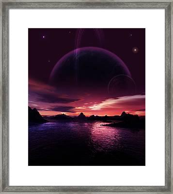 Daydream Addiction Framed Print