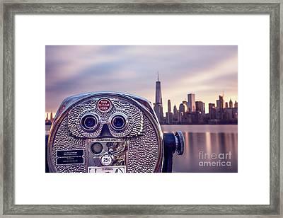 Daydream By The Hudson Framed Print by Evelina Kremsdorf