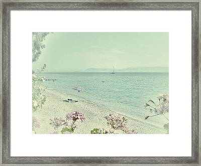 Daydream Framed Print by Connie Handscomb