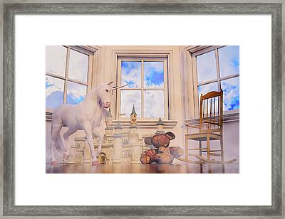 Daydream Evening Tint Custom Framed Print by Betsy Knapp