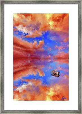 Daydream Mirage Framed Print