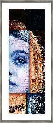 Daydream Panel 2 Framed Print by Gary Bodnar