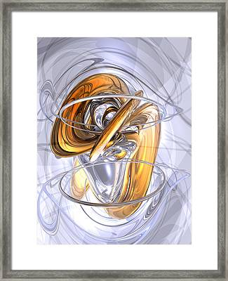 Daydreamers Abstract Framed Print