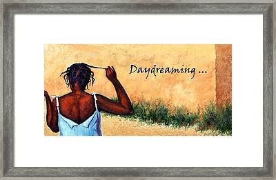 Daydreaming In Haiti Framed Print by Janet King