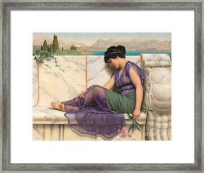 Daydreams 1909 Framed Print by Padre Art