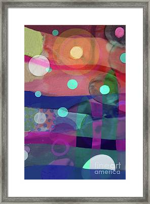 Dayglo Dream Framed Print by Cathy Jacobs