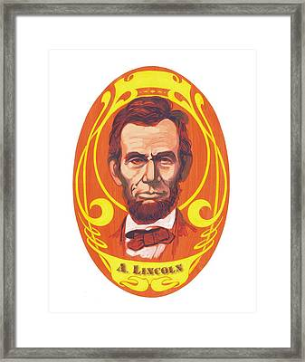 Dayglow Lincoln Framed Print