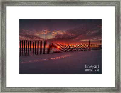 Daylight Boundary Framed Print by Ian McGregor