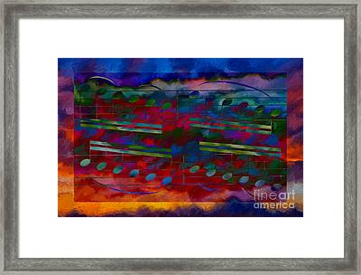 Daylight Diminuendo Framed Print