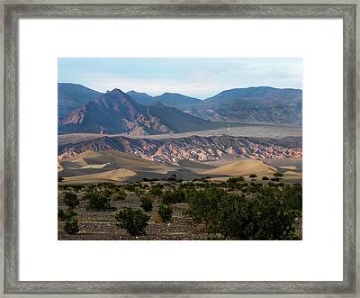 Framed Print featuring the photograph Daylight Pass by Joe Schofield