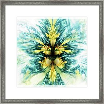 Dayqueen #art #abstract #digitalart Framed Print by Michal Dunaj